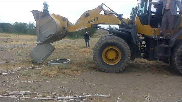 انسداد 60 حلقه چاه آب غیرمجاز در استان اردبیل