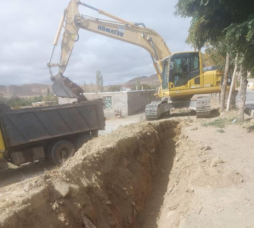 اجرای فاز دوم طرح آبرسانی به ۳۳ هزار نفر از مردم منطقه نمین و عنبران در اردبیل